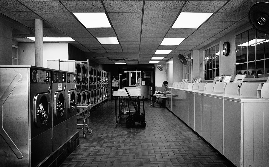 Charles Street Laundromat, Boston